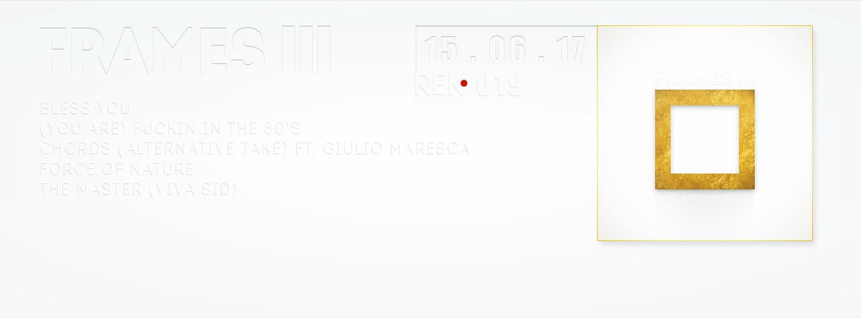 FRAMES III – DiscJoker (aka Giuliano P) – REK019