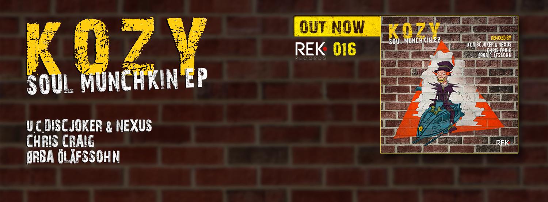 KoZY – SOUL MUNCHKIN EP – DiscJoker remix